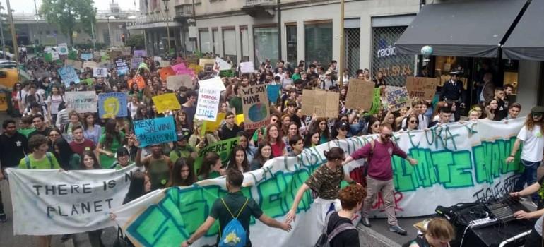 Manifestando per l'ambiente